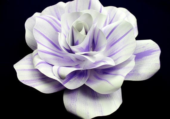 """SHADED Large paper flower, Giant paper flower, big paper flower for any occasion or wall decal """"EVELYN"""""""