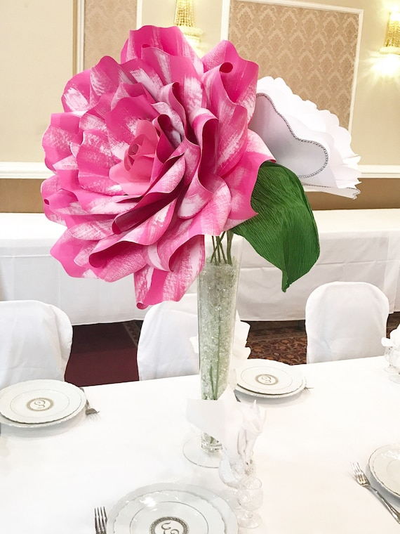 X-Large paper flower centerpiece, giant paper flower, large paper flower centerpiece, paper flower table decor