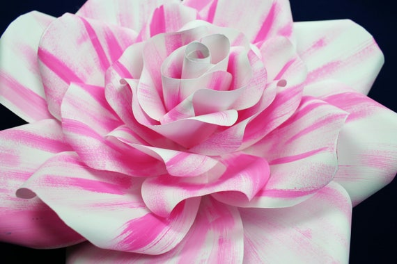 """SHADED Large paper flower, Giant paper flower, big paper flower for any occasion ore wall decal """"SOPHIA"""""""