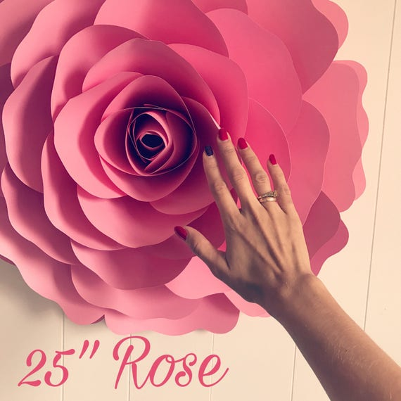 X Large Giant Paper Flower Large Paper Flower Big Paper Etsy