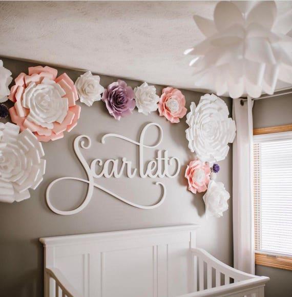 Flowers sets candytreebaltimore nursery room paper flowers paper flower backdrop giant paper flowers wall paper flower mightylinksfo