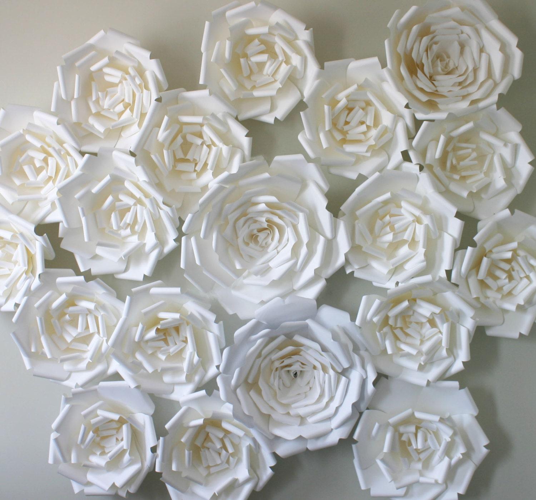 Classic Wedding Backdrop Paper Flower Backdrop Paper Flower Wall