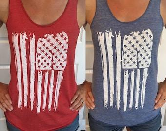 bca2eb3b206b03 4th of July Shirt Women. USA Shirt. 4th of July. Patriotic Tank. USA Tank. July  4th Tank. Flag Tank Top. Stars and Stripes. July 4th Tee.