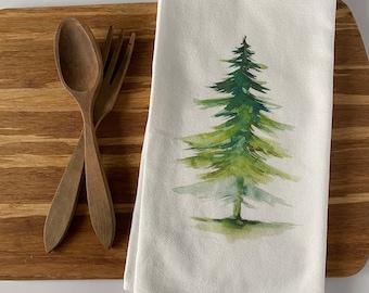 farmhouse Christmas decor.flour sack towel tea towel kitchen towel Glory to the newborn King hand towel Holiday gifts winter decor