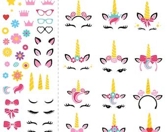 Unicorn SVG. Unicorn Party. Unicorn Instant Download. Unicorn Birthday. First Birthday Ideas. Unicorn Head. Unicorn Flower. Cute Unicorn.