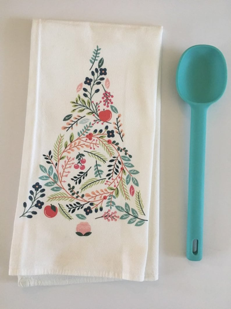 Christmas Gift Ideas. Tea Towels. Flour Sack Tea Towels. Dish image 0