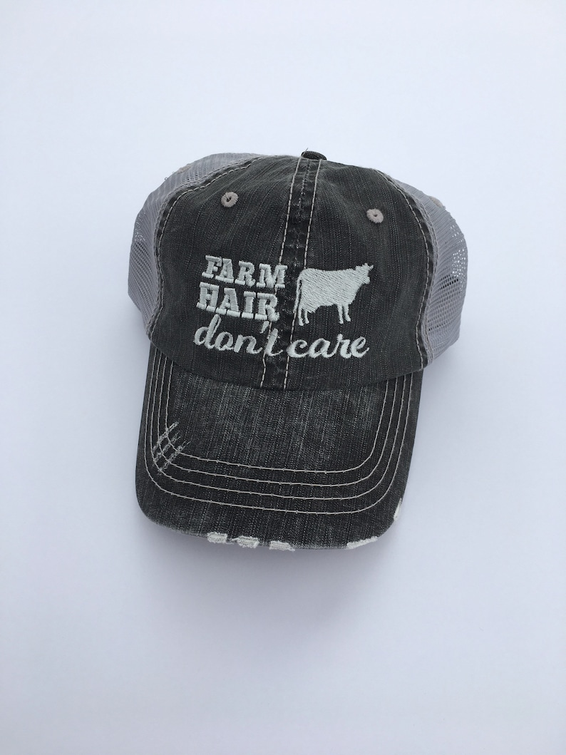 83a116d42b7 Support Your Local Farmers. Farm Hair Don t Care. Farm