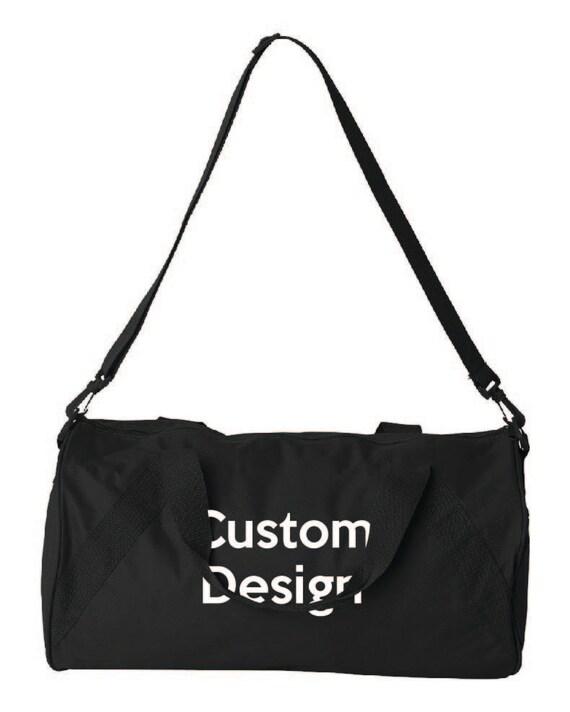 Custom Duffel Bag. Embroidered Duffel Bag. Gym Bag. Monogramed  f565faefb8a69