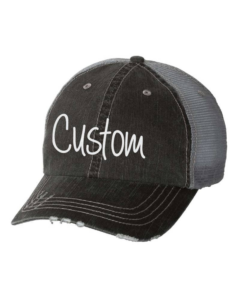 1f5f417244c Custom Embroidered Hat. Custom Hat. Baseball Cap. Bachelorette