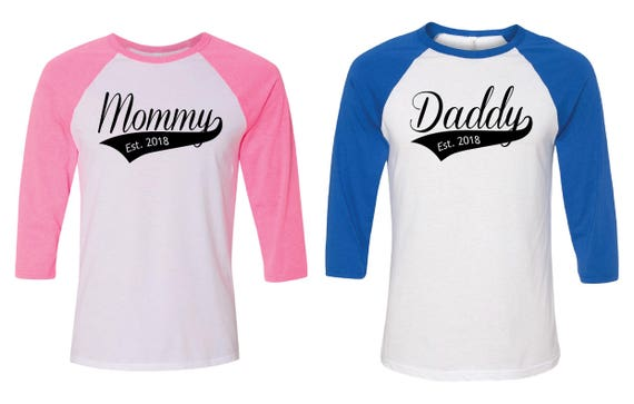 f3d744b2da42d Gender Reveal Shirts. Gender Reveal Baseball. Gender Reveal | Etsy
