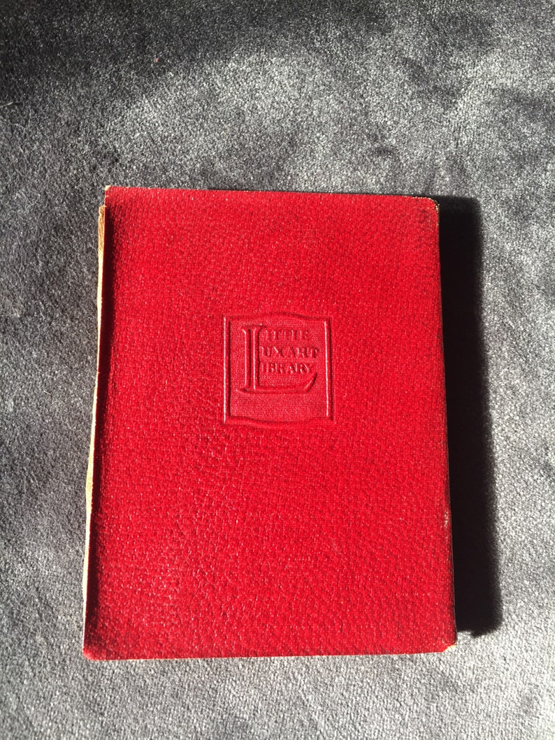 Little leather bound book image 0