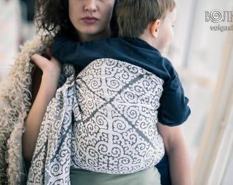 31ee680b65a7 Bague porte-bébé sling Ulchi Monochrome
