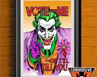 The Joker: Vote For Me - Poster