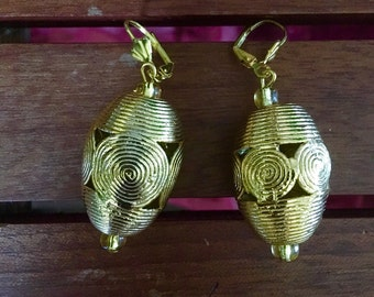 Ivory Coast Lantern Earrings
