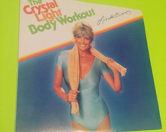 fbb9ca3941f The CRYSTAL LIGHT Body Workout w  Linda Evans - vinyl record album aerobics  exercise workout sweat fit fashion vintage retro 70s 80s 90s