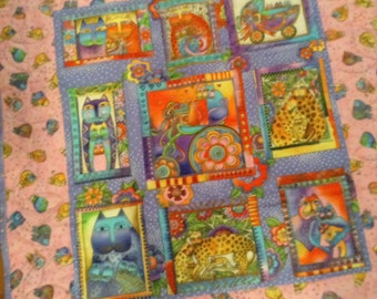 Baby girl wall hanging/ quilt