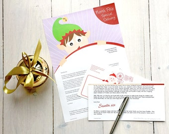 Personalised letter from Santa - Elfing Around
