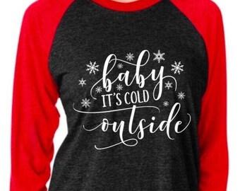 c45b1458c3a baby its cold outside baseball tee baby its cold outside shirt shirt with  sayings plus size