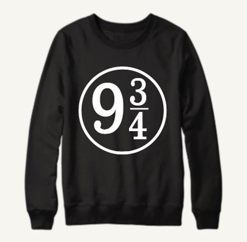 41b936127a7 Platform 9 3 4 Harry Potter Inspired Pullover Sweatshirt
