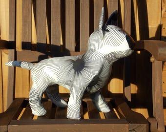English Bull Terrier Sculpture