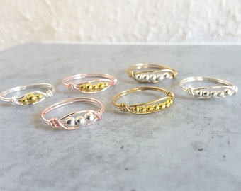 Pinky ring Thumb ring Knuckle ring Layered rings Stackable ring Colourful cord ring Red Blue Green Yellow Purple Pink White Black Brown