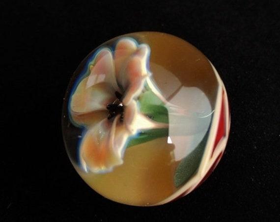 Flower Marble | Blown Glass | Handmade Gift