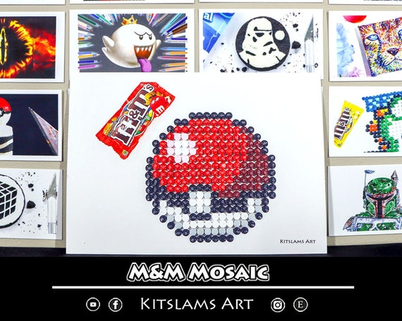 Pokeball Kunst Pokeball Kunstdruck Pokeball Pixel Pixel Art Etsy