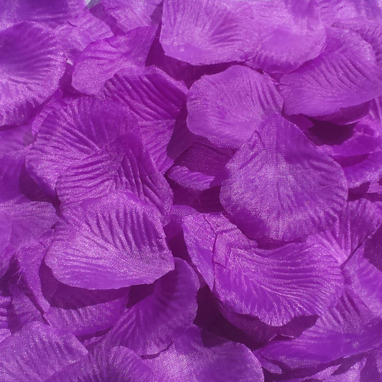 500pcs Purple Rose Petals Purple Wedding Petals Purple Etsy