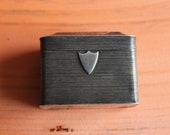 Antique Silver Pill snuff Box