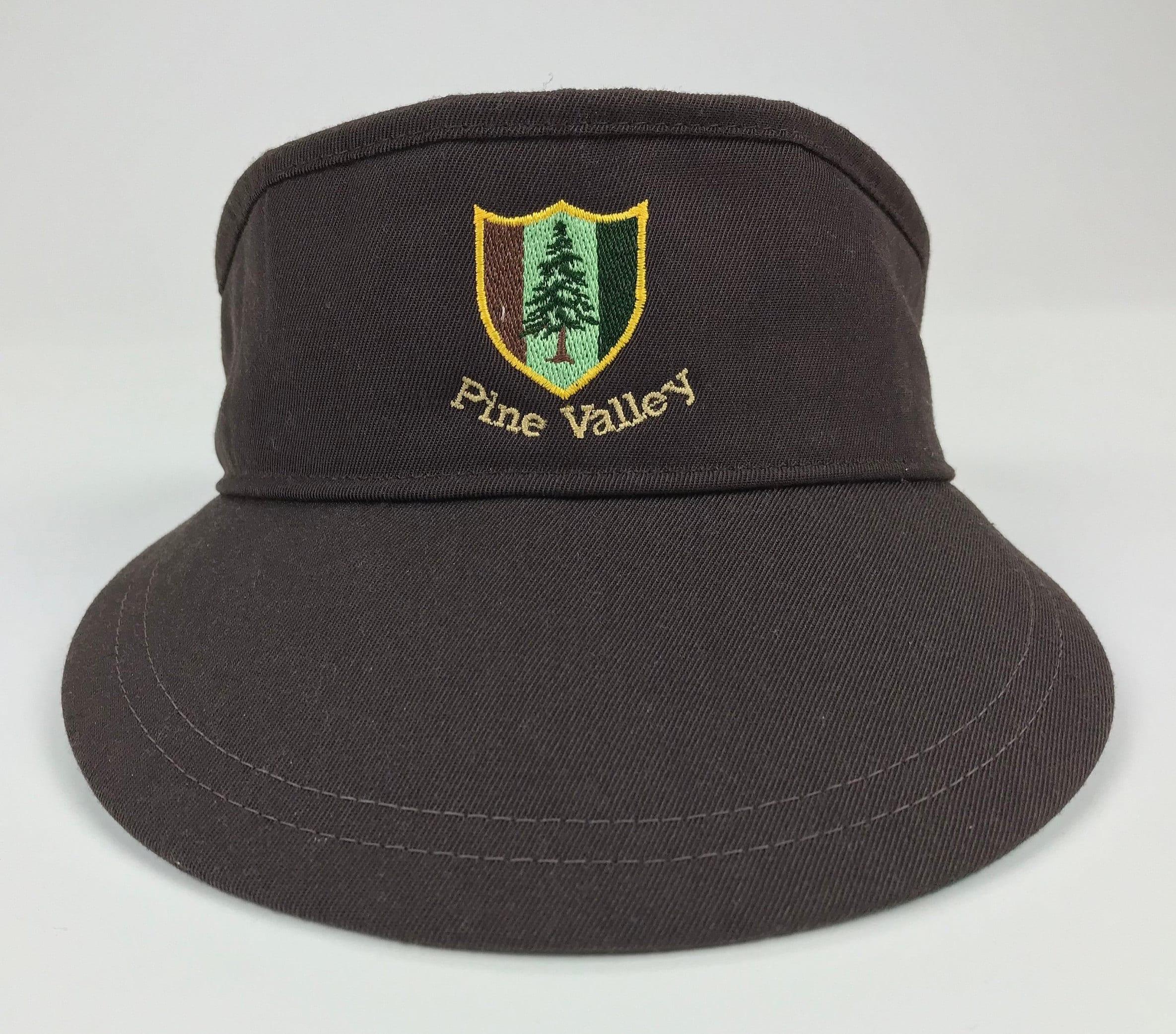 Vintage New Era Pine Valley Golf Course Pro Design Dupont ...