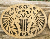 DECORATIVE Wooden Panel, Mount, Decor, Stencil for Wall, Cupboard, Door Vintage, Attractive, Grill for Holes Upcycle