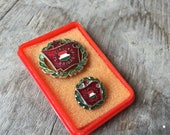 Old Communist Badge from Hungary MEDAL Red Star Achievement Hungarian Socialist BRIGADES Magyar SZOCIALISTA Brigad
