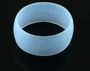 Glow Edition (blue) - PYRKIÄ silicone ring.  Add style to any activity. Waterproof. Comfortable. Safe.