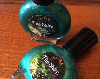 The Shire - Custom Nail Polish - The Hobbit/Lord of the Rings - J. R. R. Tolkein