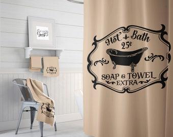 Shower Curtain Sets Hot Bath Vintage Accessories Farmhouse Bathroom Cottage Decor