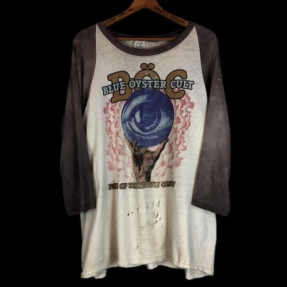 1981 Blue Oyster Cult Raglan