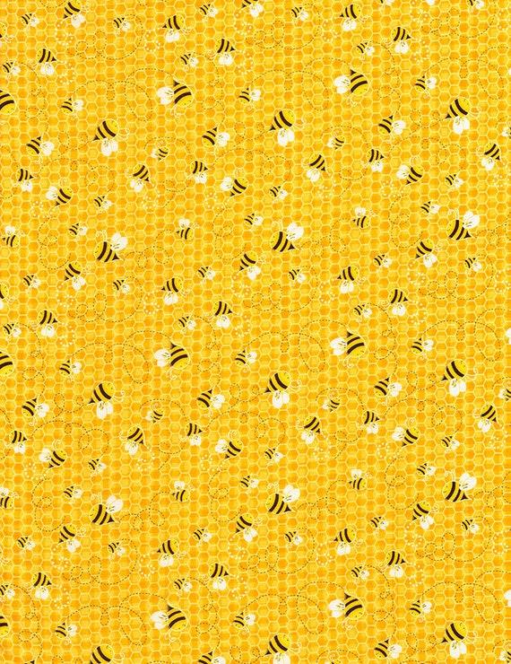 Timeless Treasures Dots C1973 Yellow Dot  Cotton