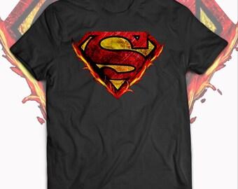 d7386dfd4 Superman Logo T-Shirt - Superman Original Logo Shirt, Superman Logo Birthday  Gift for Men Women's and Kids T-Shirt - Superman shirts