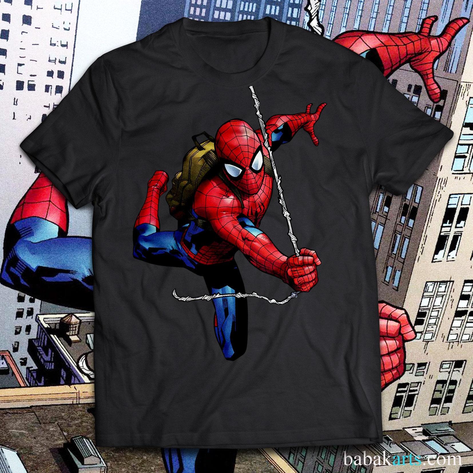 faf0a281d Spider-Man T-Shirt Spiderman Shirt Gift for Men Women & Kids   Etsy