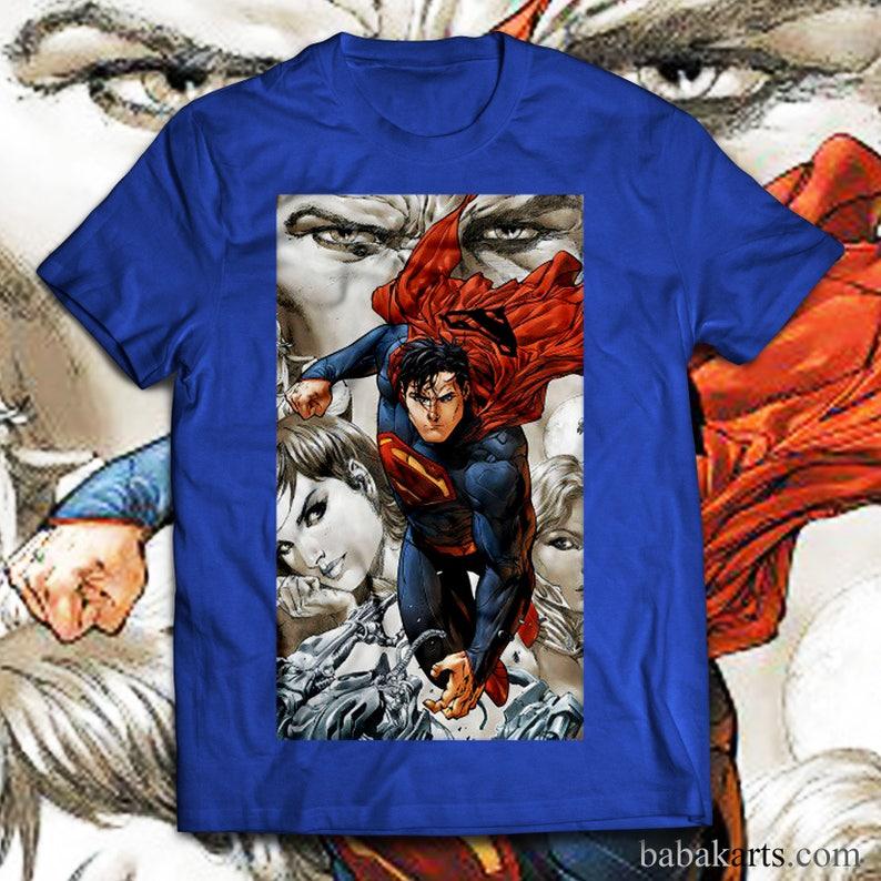 256e608b3 Superman T-Shirt Superman Shirt Superman Birthday Tee Gift