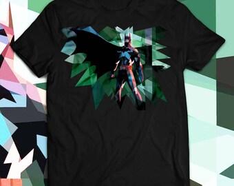 Batman T-Shirt - Batman Shirt - Batman Birthday Gift for Men Women's and Kids T-Shirt - black batman t shirt, Batman Abstract  Shirt