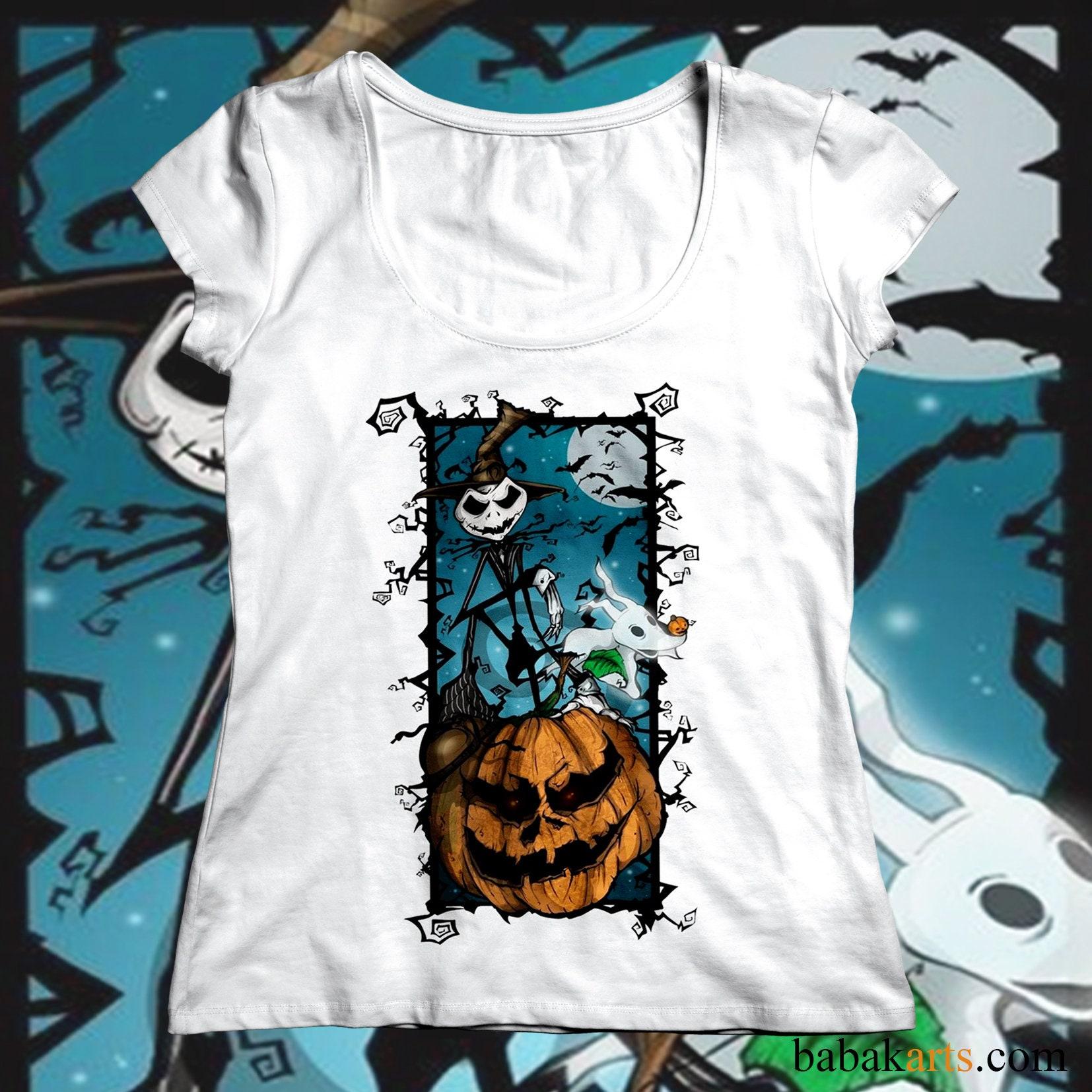 Halloween Shirts - Nightmare before Christmas - Jack Skellington in ...