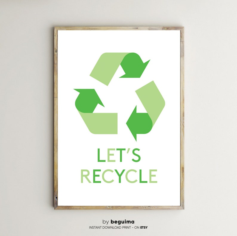 photograph regarding Recycle Sign Printable named Recycle Indicator,Recycling Brand,Motivational Prints,Ecology,Hefty Poster,Printable Wall Artwork,Environmentally friendly Natural environment,Kitchen area Decor,Electronic Obtain