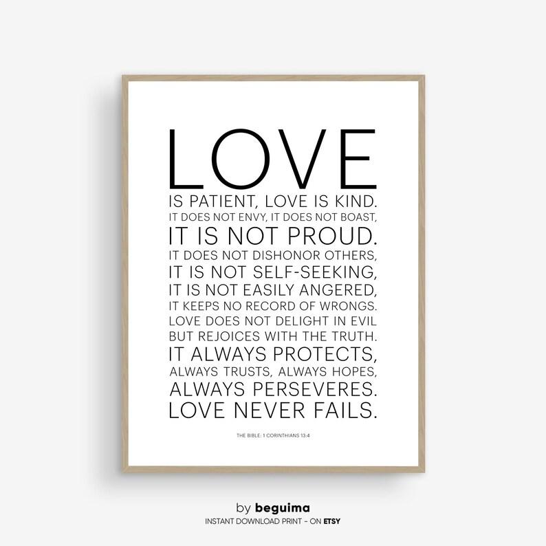die liebe ist bibel