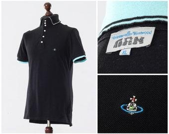 c679acb4c2 Mens VIVIENNE WESTWOOD Polo Shirt Black Size M