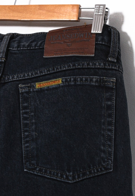 90s Vintage Mens EDWIN Jeans Denim Pants Trousers… - image 6