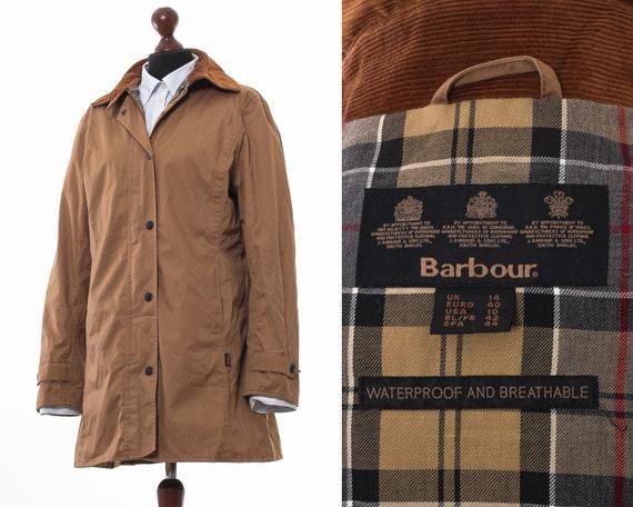 Women's BARBOUR L434 L/W Newmarket Jacket Coat Bei