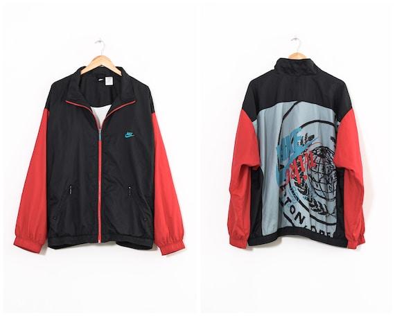 90s Vintage Mens NIKE Tracksuit Windbreaker Jacket