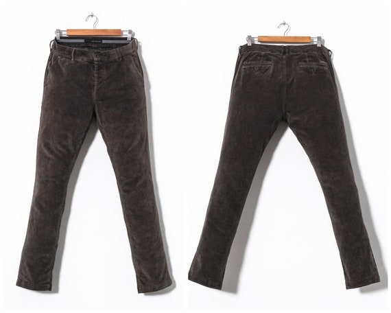 Vintage Mens CALVIN KLEIN Corduroy Pants Trousers
