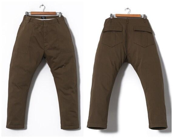 Mens ALEXANDER McQUEEN Pants Green Size 54 38